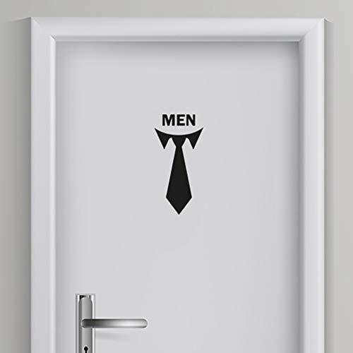 Toilet Sticker Man 5 | Toilet aanduiding | WC Sticker | WC deur sticker | Voordelig & Mooie stickers!
