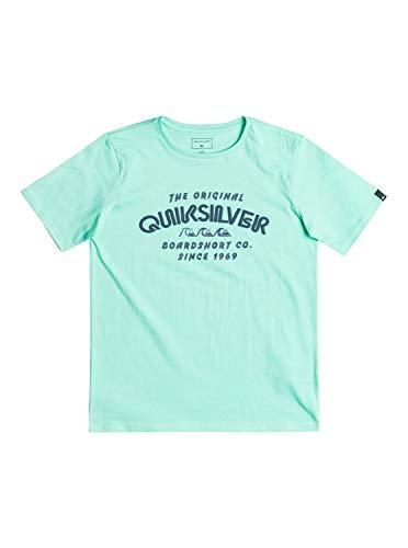 Quiksilver Wilder Mile - T-shirt - Garçon Enfant - Vert - 14 ans
