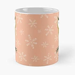 Watercolour Watercolor Gouache Handpainted - Coffee Mug Tea Cup Gift 11oz Mugs The Best Holidays.
