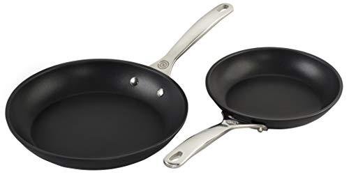 "Le Creuset Toughened Nonstick PRO Cookware Set, 2 pc. (9.5"" & 11"" Fry Pan)"