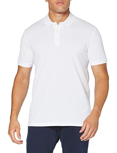 HUGO Mens Donos203 Polo Shirt, White(100), L