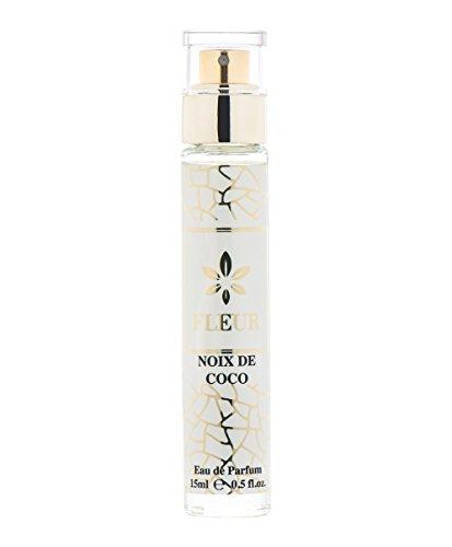 Noix de Coco Eau de Parfum de Niche pour Femme/Women, Fraiche Fragrance pour Elle, Flacon Voyage taille, Vaporisateur Natural Spray, EdP 15 ml