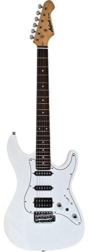 Aria STGSTVBL - Guitarra Stratocaster, color blanco