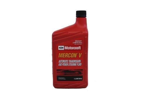 Genuine Ford XT-5-QMC MERCON-V Automatic Transmission and Power Steering Fluid - 16 oz.
