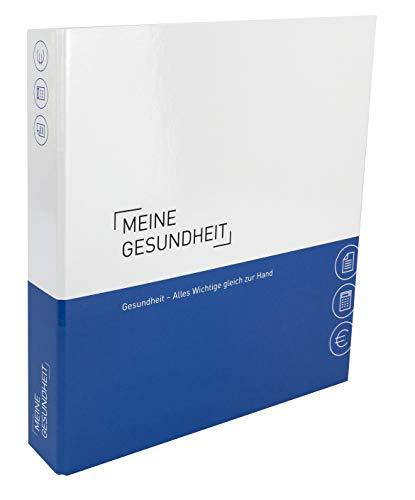Themenringbuch mit Register/Trennblättern - Gesundheit - Optimale Strukturierung/Ablage aller Unterlagen im Bereich Gesundheit. Mit beschreibbarer Arzt Adressenliste und CD Hülle