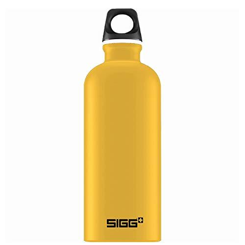 Sigg cantimplora lucid Touch Shade gris 1l botella aluminio escuela
