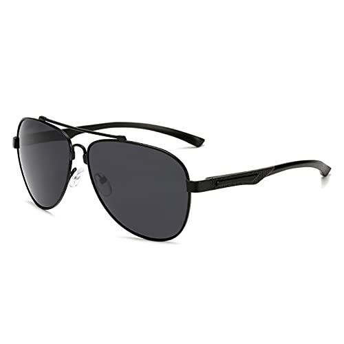 YTYASO Gafas de Sol polarizadas para Hombres y Mujeres Serie de Patas de magnesio y Aluminio Gafas de Sol Gafas polarizadoras Gafas de conducción Pesca