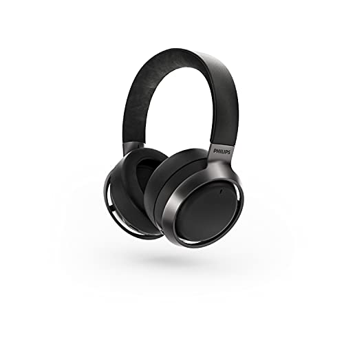 Philips L3/00 Fidelio Auriculares con Cancelación de Sonido, Cancelación de Sonido Pro +, Cascos inalámbricos para Adultos con Micrófono Dual, Bluetooth, 38 Horas de reproducción, diseño Premium