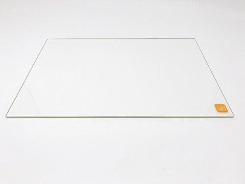 214mm x 314mm borosilicaat glasplaat/bed plat gepolijst rand voor 200x300 Verwarmd bed 3D-printers