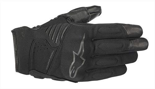 Motorradhandschuhe Alpinestars Faster Gloves Black Black, Schwarz/Schwarz, M