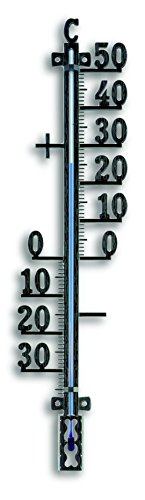 TFA Thermomètre d'extérieur&nbsp 12.5002.01, 410 mm, Noir