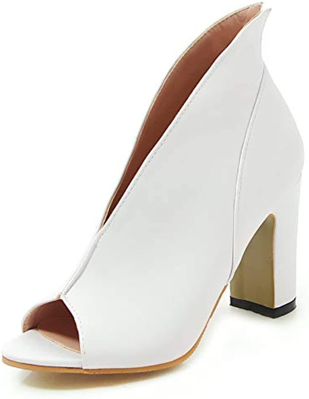 MENGLTX Stivali Estivi per Il Tempo Libero di Grei Dimensioni Taglia 34-43 Donna Sautope Seali Sautope Donna Sautope Aperte da Donna