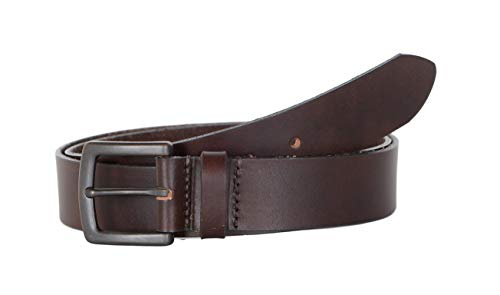 Timberland Mens Leather Khaki Belt Made in U.S.A. W34 Brown