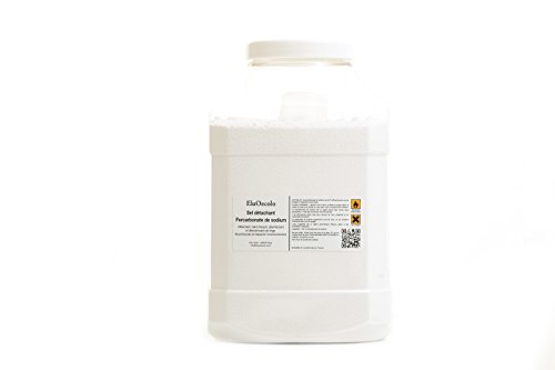 EluOecolo - Percarbonate de Soude 5kg - Oxygène actif <12% - doseur à lintérieur - Détachant & blanchissant