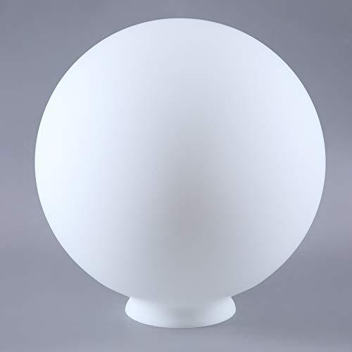 Kugelglas Lampenglas Ø 250mm Weiß Ersatzglas rund Leuchtenglas Glaskugel für E27 Lampenschirm Opalglas matt