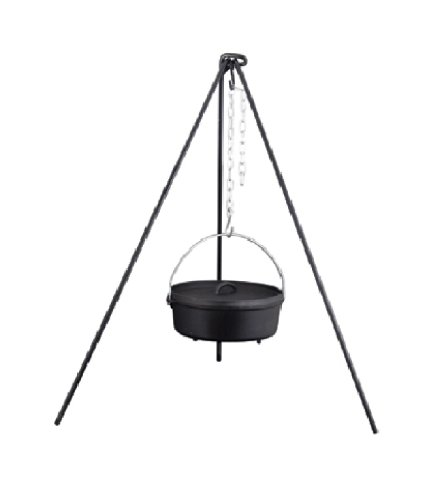 "Camp Chef Dutch Oven Tripod 50"" - 125"