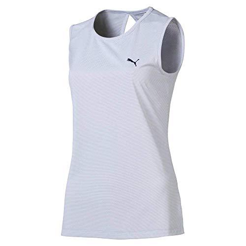 PUMA 2019 - Camiseta sin Mangas para Mujer, Mujer, Color Peacoat, tamaño XX-Large
