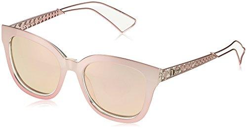 Dior DIORAMA1 0J TGW Gafas de Sol, Rosa (Pink Crystal/Grey Rose GD Grey Speckled), 52 para Mujer