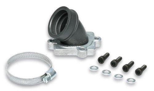 MALOSSI Ansaugstutzen MHR X360, für KOSO/PWK/S6/PHBH/VHST Vergaser 26-30, für MINARELLI liegend 50ccm, AC/LC, Durchlass: 30mm, Ansc.hluss Vergaser: 35mm, Viton,