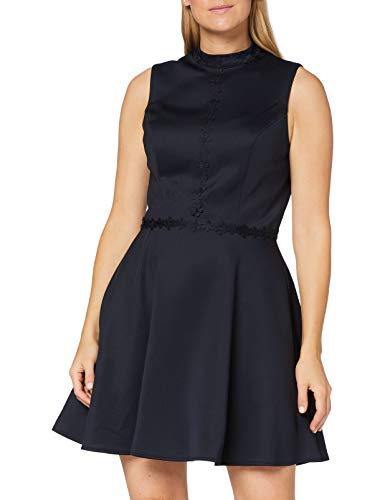 Chi Chi London Damen Chi Lucia Dress Kleid, blau, 32