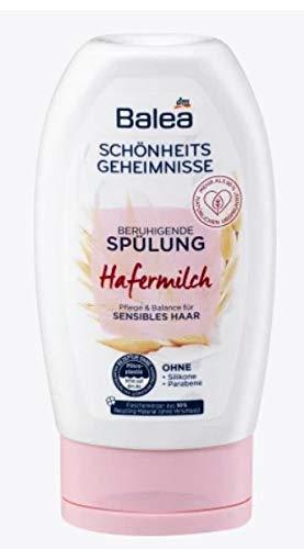 Acondicionador con leche de avena, para cabello cuidado y un cuero cabelludo relajado, cuidado y equilibrio para cabello sensible, sin siliconas ni parabenos, 200 ml
