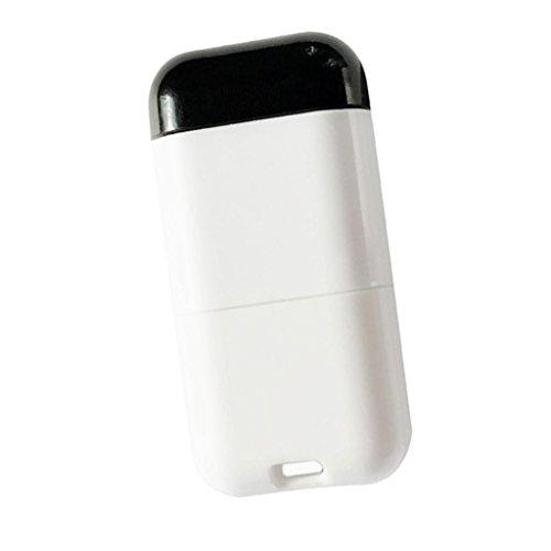 IPOTCH Smartphone Android Adattatore Smart Infrarossi Telecomando Senza Fili per Proiettore Luce Ventilatore - Nero Bianca Tipo C