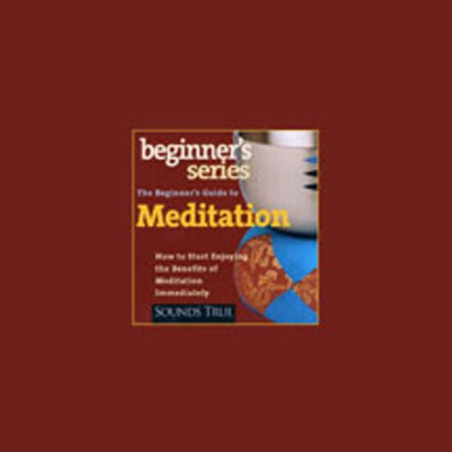The Beginner's Guide to Meditation audiobook cover art