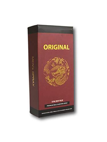 Maroon Black Original All Natural Enhancement Delay No Numb Spray (1)