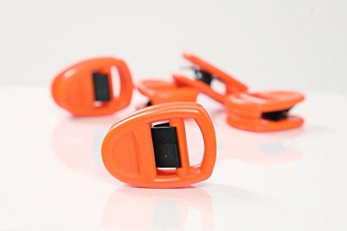 Clipso Sockenklammern (Orange)