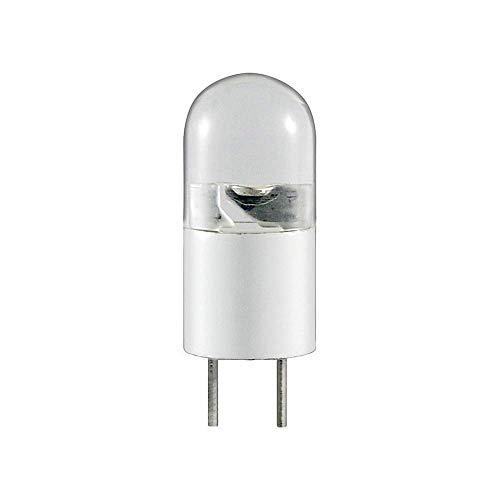 goobay Wentronic 30263-Lampadina LED G4B 0,3 W, 12 V AC/DC, Luce Bianca Calda G4, 0.3 W, 1x