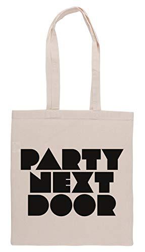 Luxogo Partynextdoor Bolsa De Compras Groceries Beige Shopping Bag