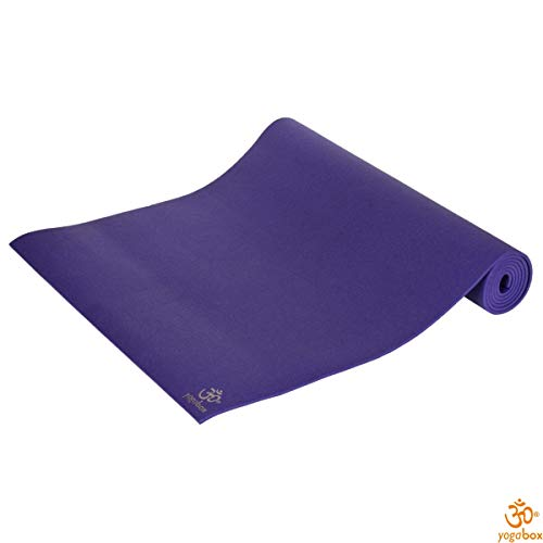 Yogilino® Kinder Yogamatte 150x60x0, 45 cm Made in Germany, lila