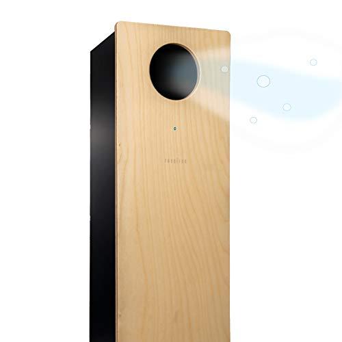 Purificador de Aire con luz Ultravioleta UV-C, germicida, eficacia del 99,9%, certificado, sin filtros ni ozono