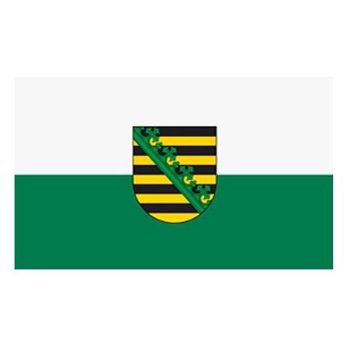 MM Sachsen Flagge/Fahne, 150 x 90 cm, wetterfest, mehrfarbig, 16202