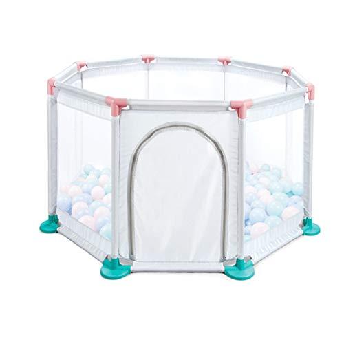 Beperkte aanbieding babyplaypes, opvouwbare kinderactivity center veiligheid play-yard uittrekbare startpagina Indoor Outdoor Baby-Fence -loopstal met poort