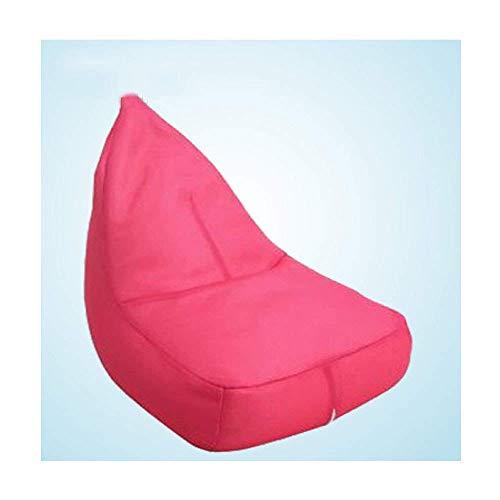 HUAXUE Poltrone Sacchetti di Fagioli Divano Adolescente Girls Impermeabile per al di Fuori Indoor ed Outdoor, Red-Onsise (Colore: Rosso, Dimensione: OneSize) (Color : Pink, Size : OneSize)
