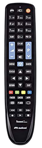 Telecomando per TV SAMSUNG, Meliconi Personal 1 Plus (M), Nero