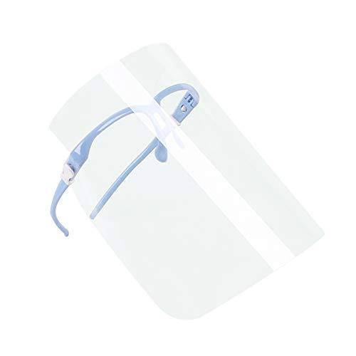 1 máscara antivirus y saliva, película protectora de alta calidad, máscara médica, color al azar