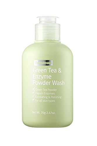 [BY WISHTREND] Green Tea Enzyme Powder Wash, cleanser, exfoliate, 70g, 2.47oz