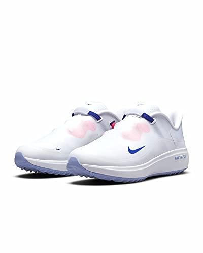 Nike React Ace Tour Zapatillas de Golf para Mujer (White/Concord-Light Thistle, Numeric_40_Point_5)
