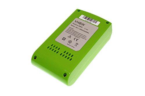 vhbw Batería compatible con Stiga sierra de cadena SC 24 AE, Stiga multiherramienta SMT 24 AE; herramientas eléctricas (2000mAh,24V, Li-Ion)