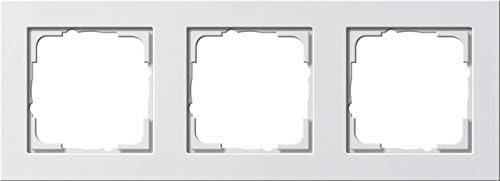 Genuine Gira 021322 Abdeckrahmen 3fach matt Inexpensive Reinwhite E2