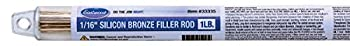 Eastwood 1/16  Silicon Bronze Filler Welding Wire Rod 1 LB - SILBRZ-063-01T TIG