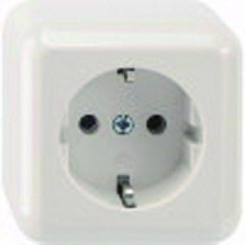 Merten MEG2301 – 8719 Schuko White Socket-Outlet – Socket-outlets (16 zu)