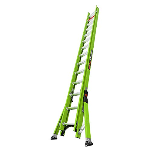 Little Giant Ladders - SumoStance 28 Foot Extension Ladder | Fiberglass, Type 1A, 300 lbs weight rating | 18828