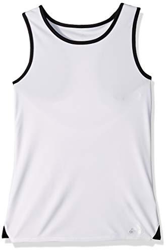adidas Camiseta sin Mangas para niña Club Tenis, niña, Camiseta de Tirantes Anchos, S1907W504G, Blanco, XS