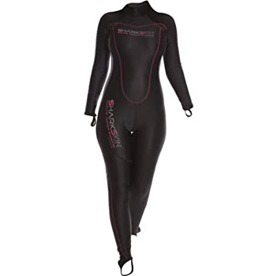 Sharkskin Ladies Chillproof Back Zip Full Wetsuit (06)