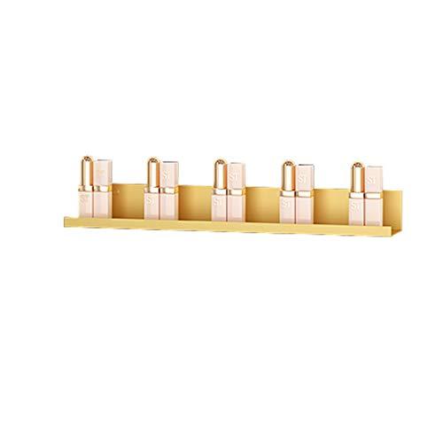 Soporte de exhibición de esmalte de uñas de metal, Estante de almacenamiento de aceite esencial de perfume de lápiz labial, Estante de almacenamiento de esmalte de uñas / caja de almacenamiento