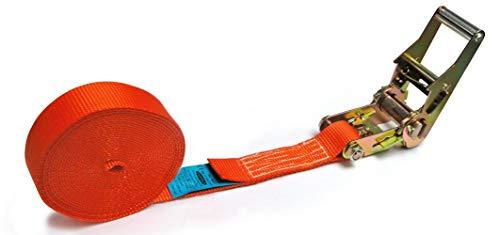 Ponsa spanband met ratel - voor zware lasten Lengte: 6 m. Weerstand Brech Real 5.000 kg 027135035104