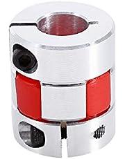 6.35mm x 12mm Flexibele Plum Shaft Koppeling CNC Stepper Motor Encoder Coupler